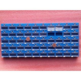 23x31x27 mm SMD Container Sortiment Box Mäuseklo blau medium