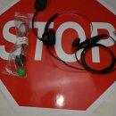 Headset für Elmeg Telefon Elmeg IP S400 CS 410, 410U...