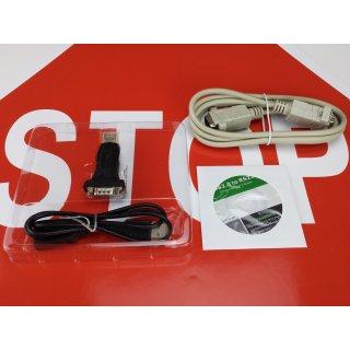 USB Adapter Eumex 208 209 Datenkabel Kabel RS232 64bit  Windows 10