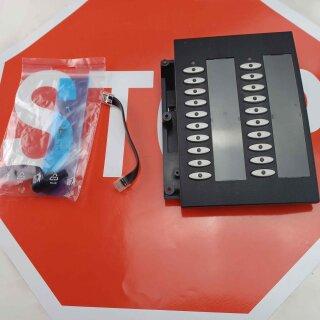 Elmeg T400 Tastenfelderweiterung schwarz für Elmeg CS410 / CS410-U / CS400xt