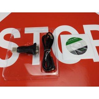USB RS232 Adapter für Tiptel 195 193 175 811 810 410 411 Kabel RS232 RG MwSt.