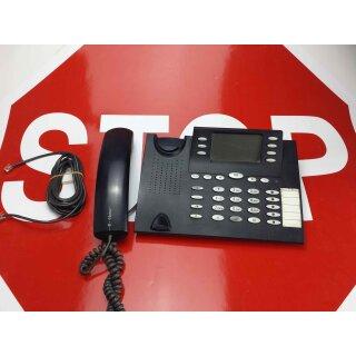 T-Concept  PX 722 schwarz ISDN Systemtelefon für Eumex 800 kurze Füsse Rechnung MwSt.
