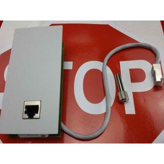 AGFEO Lan Modul Modulfrontplatte -beige- LAN-Modul 508/509/510   RE MwSt