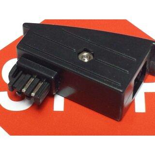 1Stück AVM Adapter TAE analog Adapter Eumex 300 RJ45 Fritzbox Fritz  Fon Rechnung MwSt. Händler Garantie