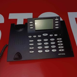 Reparatur Elmeg  CS 410  CS410 schwarz,, ohne Füsse, ohne Kabel, ohne Hörer, nur Gerät RE MwSt