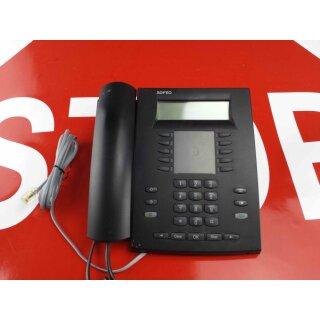 AGFEO Systemtelefon ST 30 ST30 S0 schwarz mit Anrufbeantwortermodul  Rechnung 19% MwSt.
