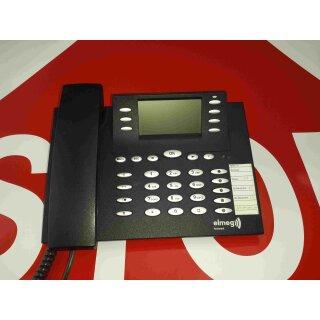 elmeg CS 410 CS410 Systemtelefon ISDN mit Headsetanschluss (RJ45) + AB Anrufbeantworter schwarz RG MwSt