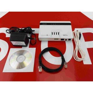 Eumex 402 ISDN Komplettanlage Telefonanlage (generalüberholt) Rechnung MwSt. Garantie Windows 10 (64bit) Telefonanlage