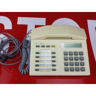 Telekom Systemtelefon Eumex 312  Focus L 62 weiss / beige, Display ist neu , Hörer zu leise: gelöst
